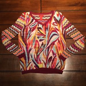 Missoni for Target size Large sheer knit sweater